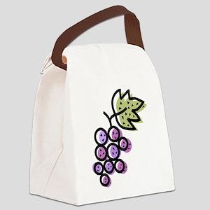 GRAPES [1 lt purple] Canvas Lunch Bag